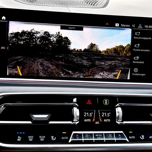 BMW X5 2018, Kamerasystem, Aufnahme