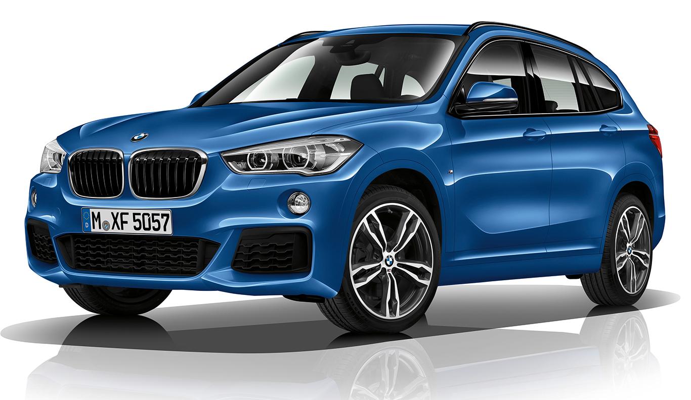"""Exklusivität mit deutlichem Signalgehalt: """"Estoril Blau Metallic"""" nennt sich die ausschließlich der Top-Ausstattung BMW X1 """"M Sport"""" zugestandene Lackierung."""
