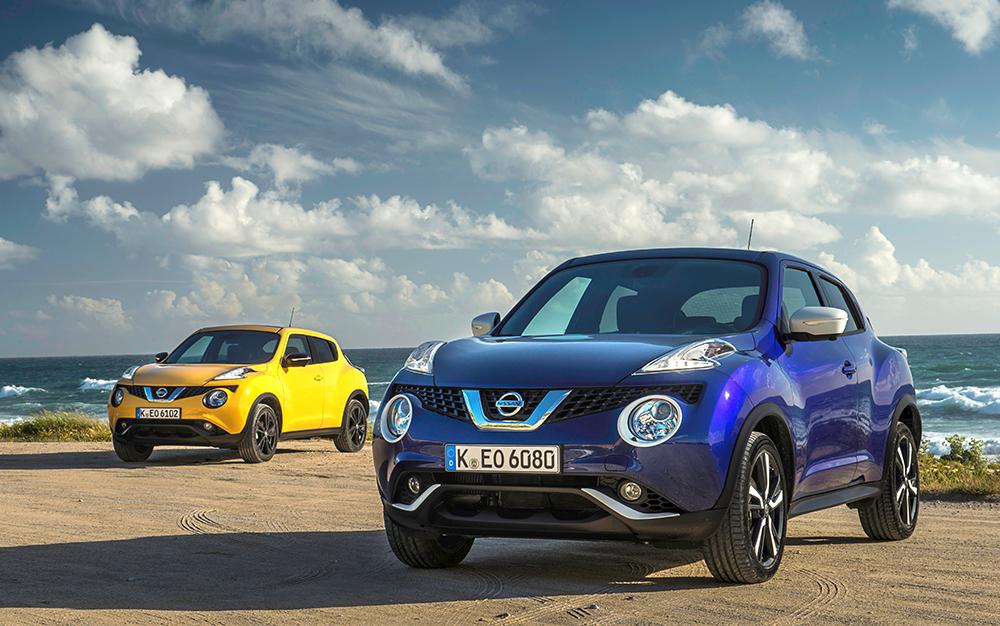 """Schön bunt geht es beim Nissan Juke zu. Leider aber nicht in der leistungsstärksten """"Nissmo RS""""-Version."""
