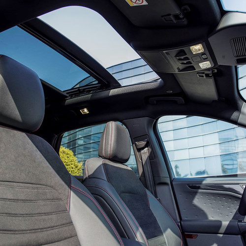 Ford Kuga 2020, Cockpit, Innenraum, Panorama-Glasdach