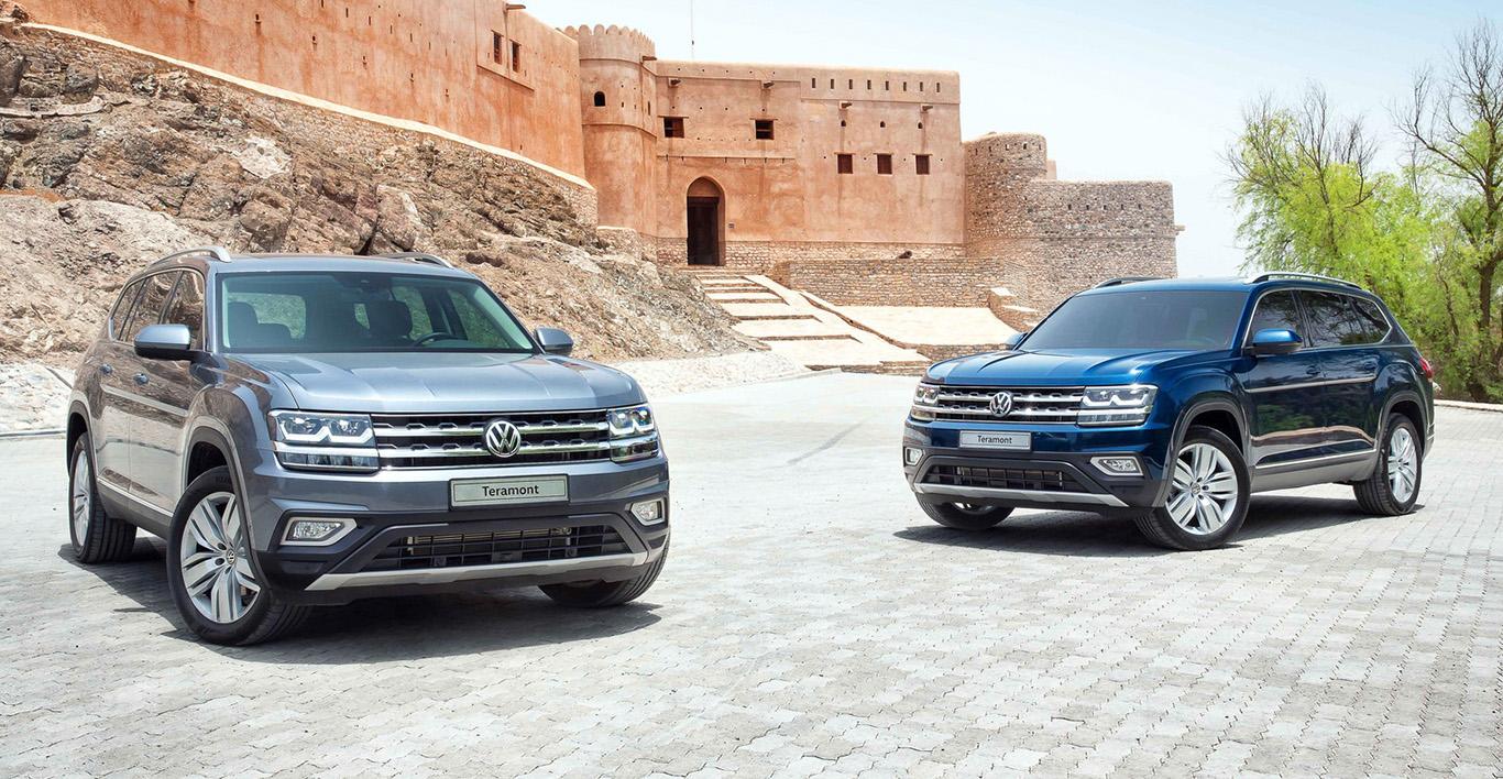 SUV für den Mittleren Osten: Der Siebensitzer VW Teramont ist das Pendant zum amerikanischen VW Atlas.