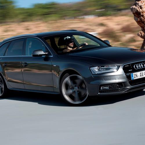 Seitenansicht des Audi A4 Avant.