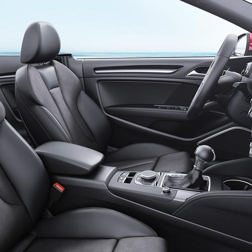Audi A3 Cabrio, Cockpit, Innenraum, Seitenansicht
