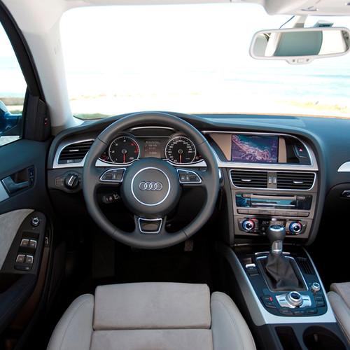 Innenansicht des Audi A4 Avant.