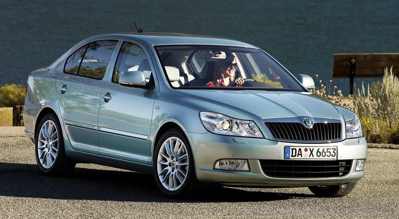 Ab 2004 wurde die zweite Generation des Skoda Octavia verkauft.