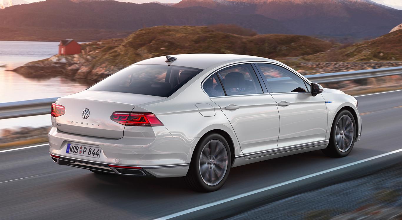 Äußerlich wurde die VW Passat-Baureihe B8 für das Jahr 2019 nur marginal verändert.