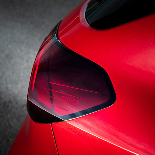 Opel Corsa F, Heckscheinwerfer