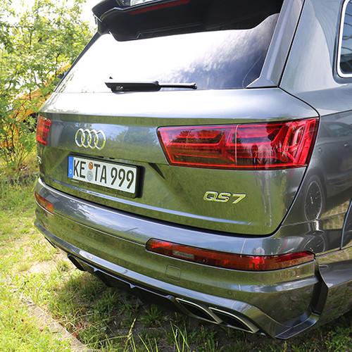 Das Heck eines Audi-Abt QS7.