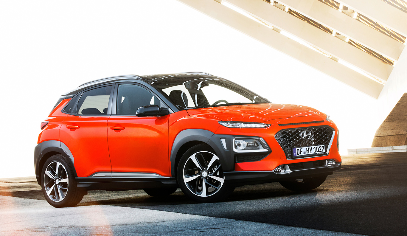 Peppiger Lifestyle-Crossover: Hyundai Kona