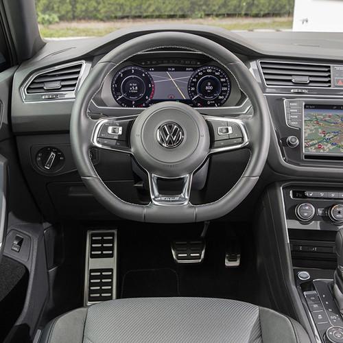 VW Tiguan, Innenansicht, Cockpit