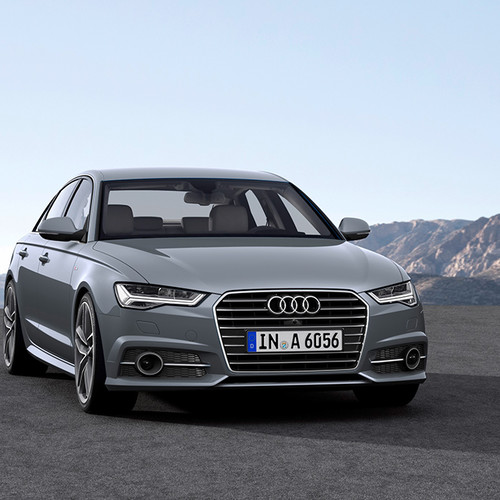 Halbseitenansicht Audi A6 (4G).