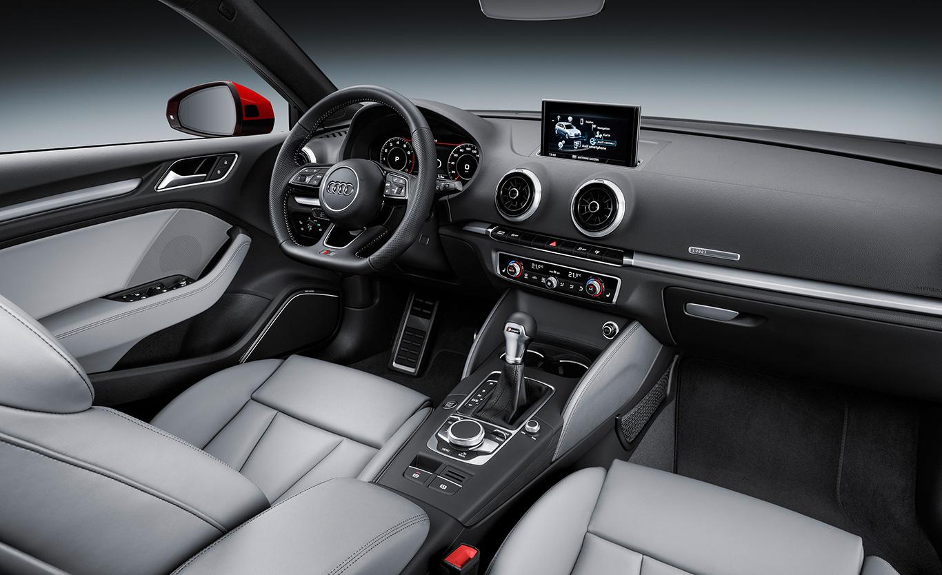 Kein Wunder: Für Leder zahlt man beim Audi A3 Sportback einen gehörigen Aufpreis.