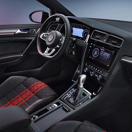 VW Golf 7 GTI TCR, Innenansicht, Cockpit