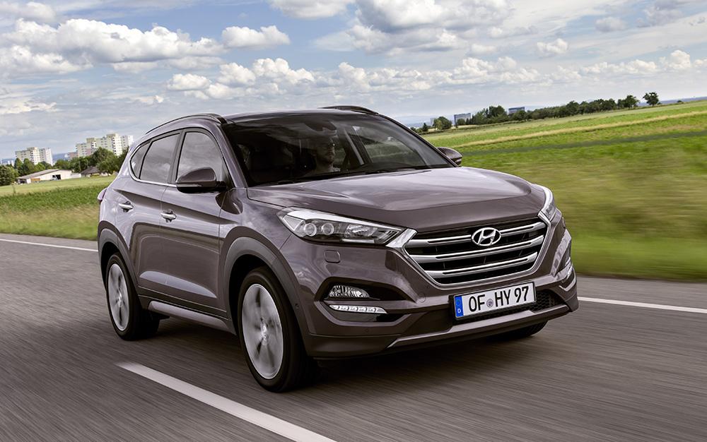 Kompakt- bis Mittelklasse-SUV aus Südkorea: der Hyundai Tucson.