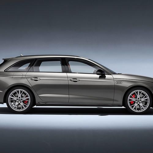 Audi A4 Avant, Facelift 2019, Seitenansicht
