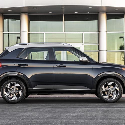 Hyundai-SUV Venue, Seitenansicht