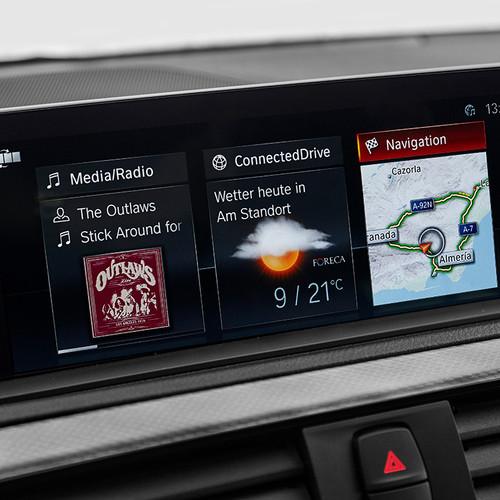 BMW 1er Reihe, Facelift 2017, Multimedia