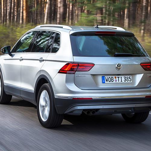 VW Tiguan II, Heckansicht