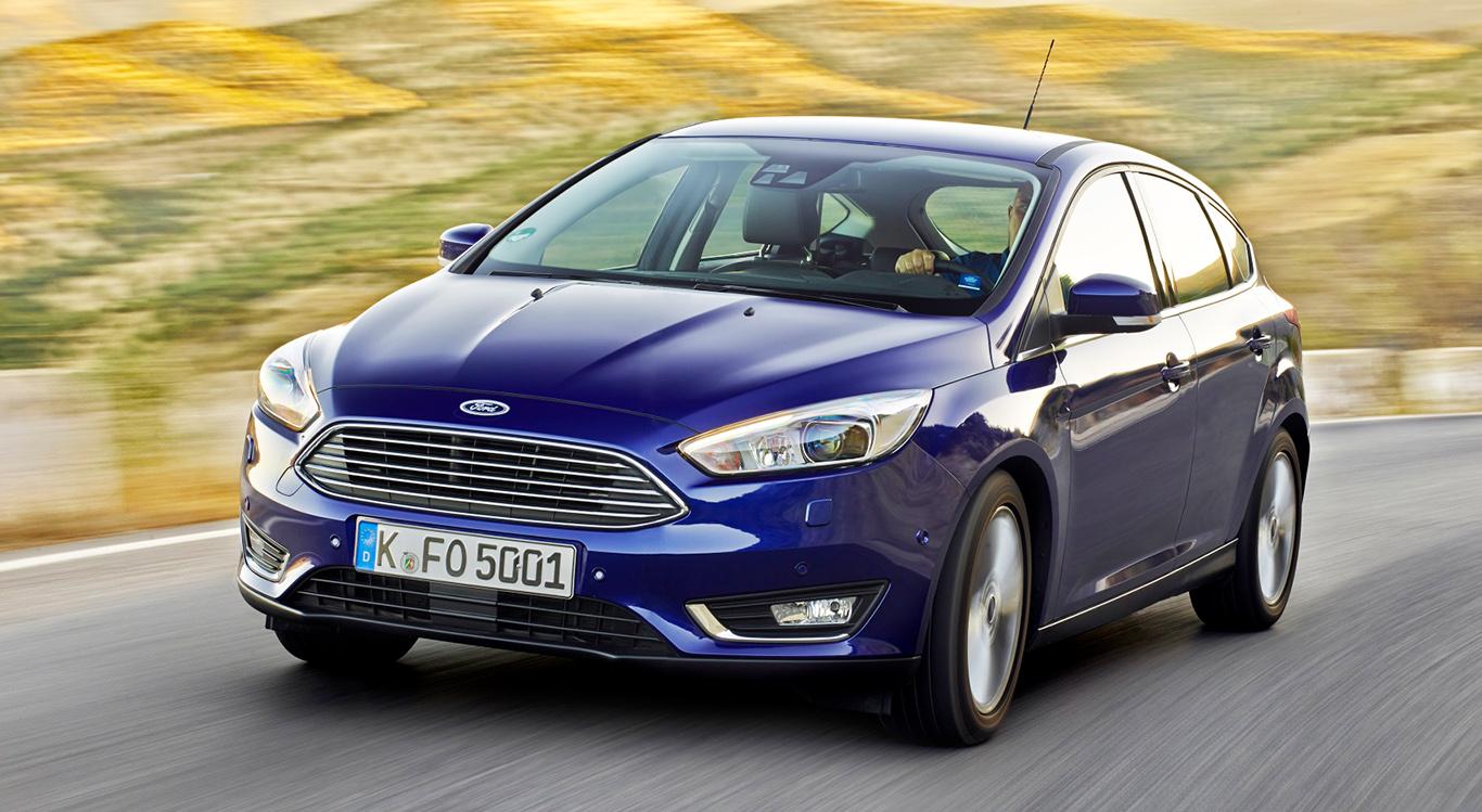 Die dritte Generation des Ford Fokus bekam 2014 ein Facelift spendiert - und ein Haifischmaul an die Front implantiert.