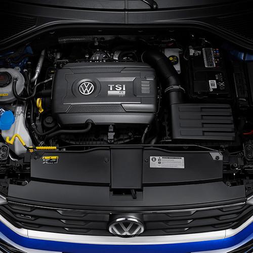 VW T-Roc R, Motoransicht