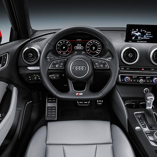 Audi A3 Sportback, Innenansicht, Cockpit