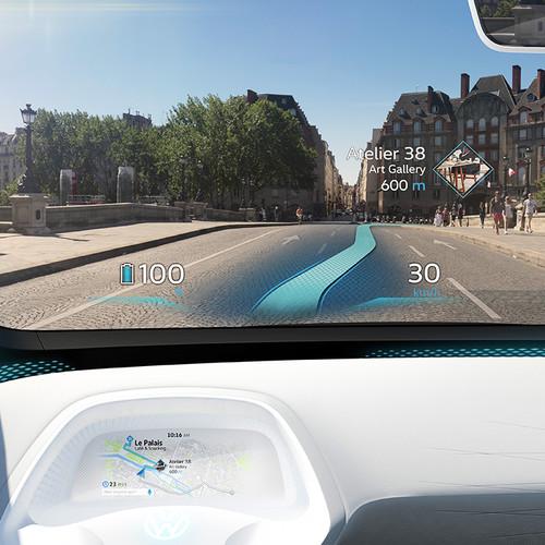 VW-Elektroauto, Studie ID NEO, digitales Cockpit, Innenraum