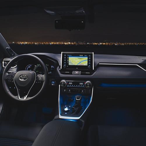 Toyota RAV4 2019, Cockpit