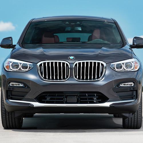 BMW X4 2018, Frontansicht, anthrazit, grau