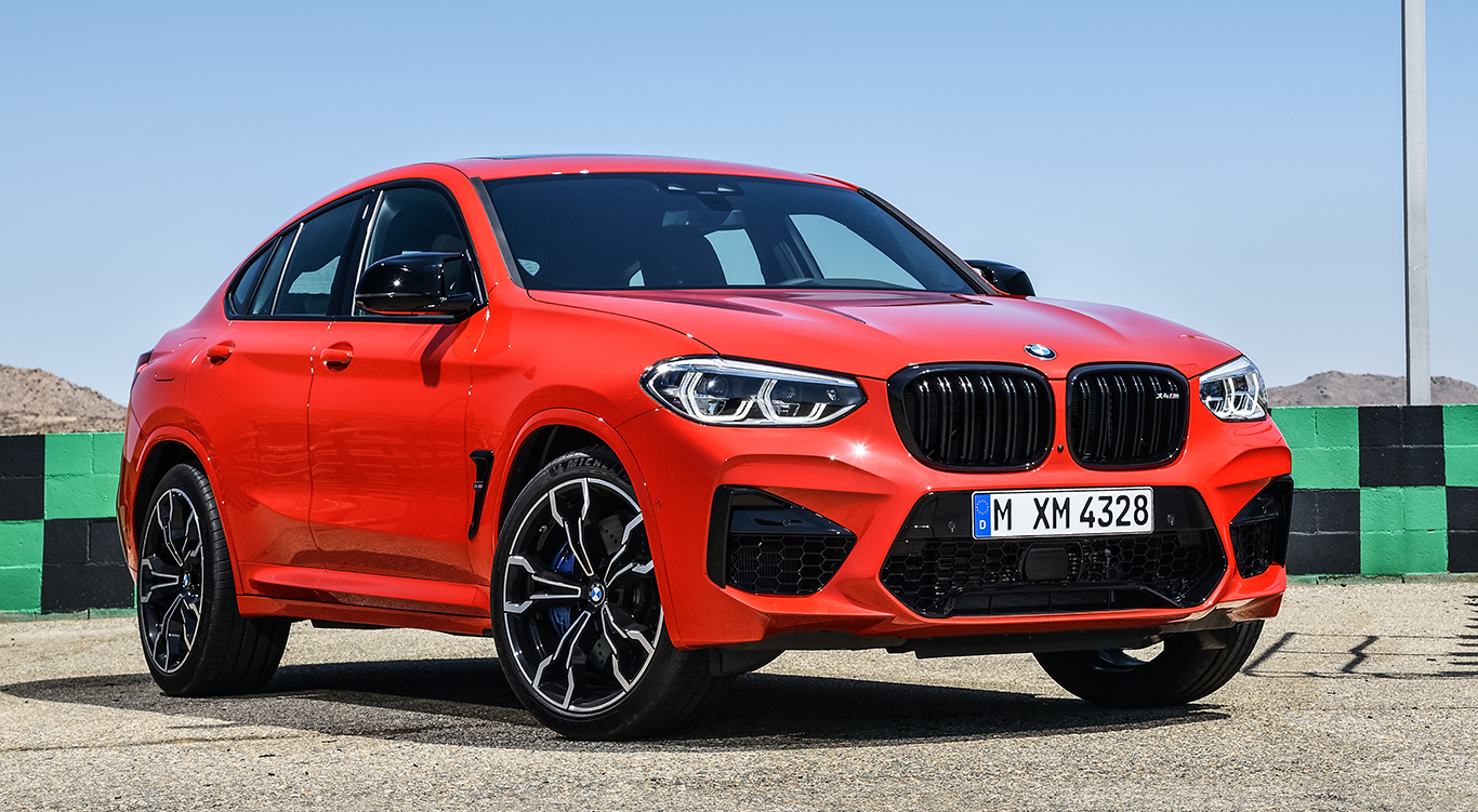 BMW X4 M Competition.