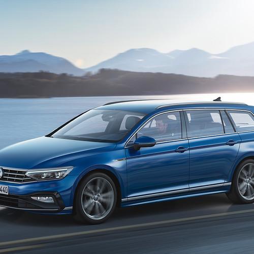 VW Passat Variant 2019, Facelift, Kombi, Frontansicht