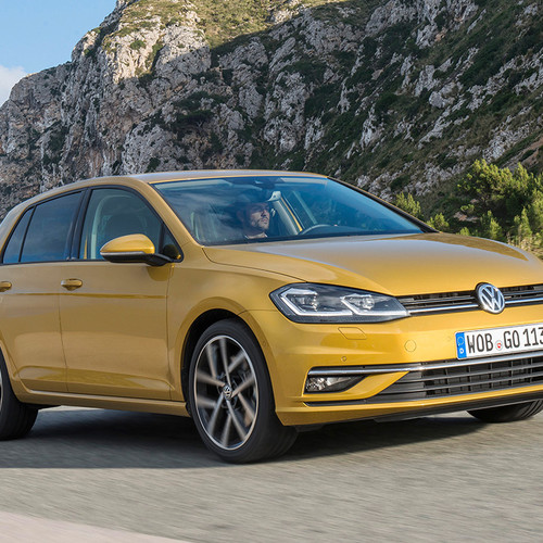 VW Golf Facelift 2017 Frontansicht