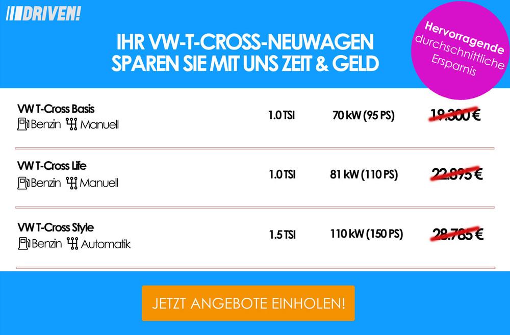 Werbung VW T-Cross