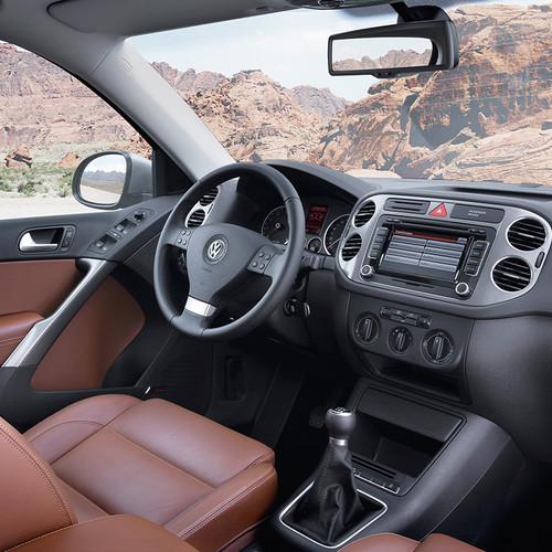 VW Tiguan I Facelift, Cockpit