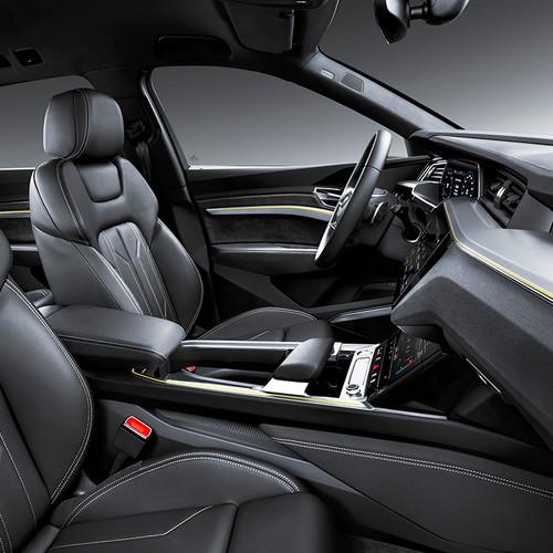 Audi e-tron, Elektro-SUV, Innenraum, Cockpit