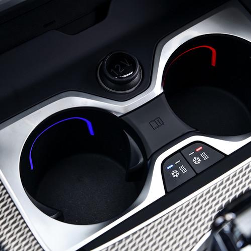 BMW X5 2018, Getränkehalter