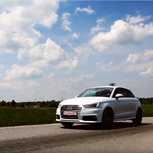 Seitenansicht des Audi S1