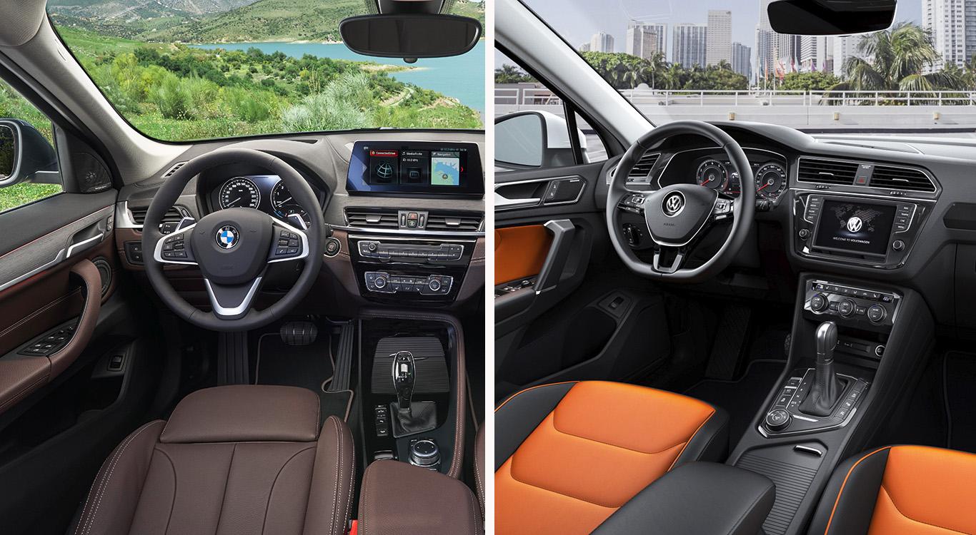 Hochwertige Materialien im Innenraum und ein Infotainment-Angebot für Anspruchsvolle können beide Kompakt-SUV vorweisen.