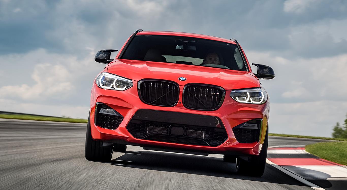 BMW bringt 2019 die neue Generation der Hochleistungs-SUV BMW X3 M und X4 M (im Bild) an den Start.