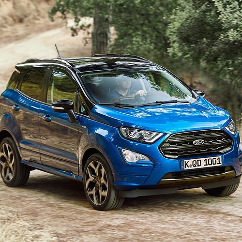 Ford EcoSport 2018 Frontansicht blau