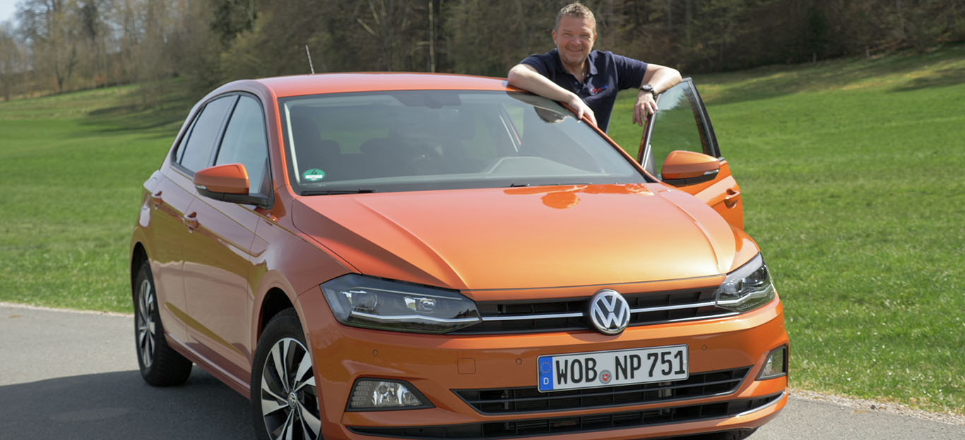 VW Polo TGI, Frontansicht