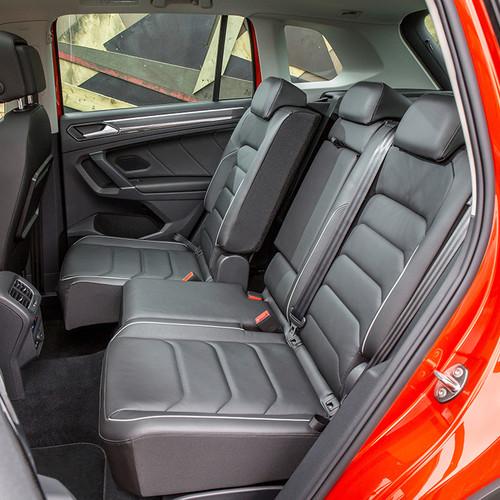 VW Tiguan II, Innenraum, Fond