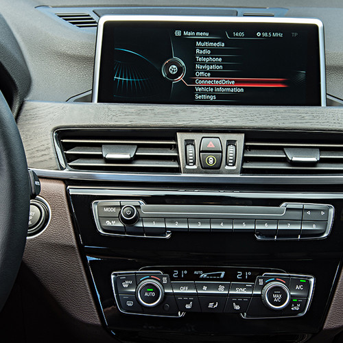 BMW X1, Innenansicht, Display