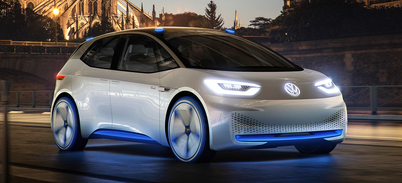 VW NEO, Elektroauto-Studie ID Concept, Frontansicht