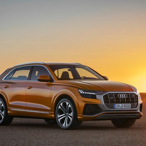 Audi Q8 2018, Frontansicht