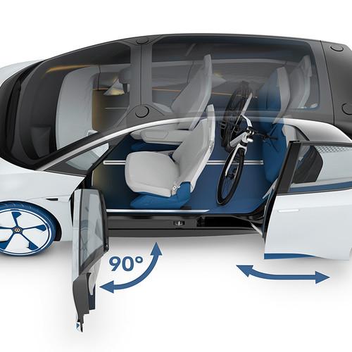 VW-Elektroauto, Studie ID NEO, Innenraum, Konzept