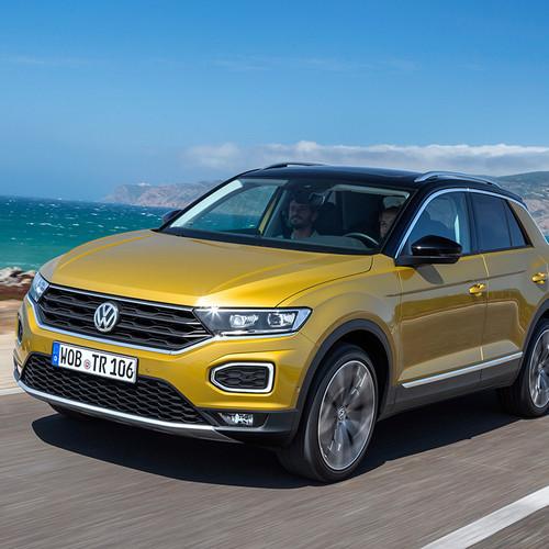 VW T-Roc Fahraufnahme Front