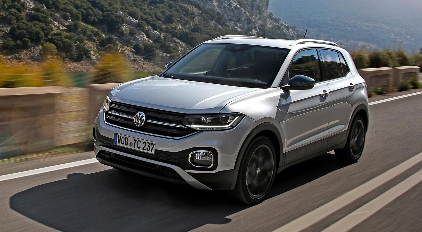 """Der VW T-Cross ist seit 2019 erhältlich. Die Kosten für die Anschlussgarantie sind bei diesem """"Polo-SUV"""" die gleichen wie beim eigentlichen VW Polo."""