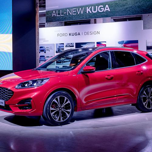 Ford Kuga 2020, SUV-Neuheit, rot, Frontansicht