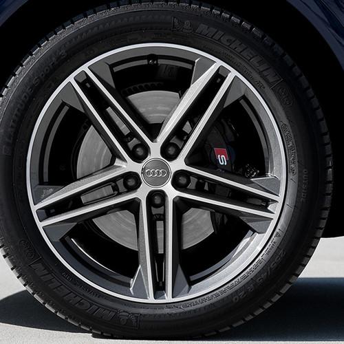 Audi SQ5, Detailaufnahme Vorderreifen