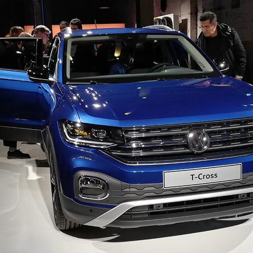 VW T-Cross, Fontansicht, dunkelblau